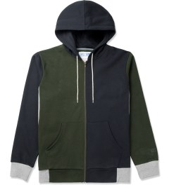 Hall of Fame Forest Green Multi Zip-Up Hoodie Picture