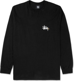Stussy Black Basic Logo L/S T-Shirt Picture
