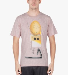 P.A.M. Pink Marle Acid Yolk T-Shirt Model Picture