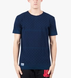 Grand Scheme Navy Bandana T-Shirt Model Picutre