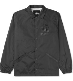 Stussy Grey LB Coaches Jacket Picutre