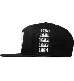 Stampd Black NY Golden Era Snapback Cap Model Picture