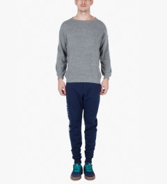 Raised by Wolves Navy Logotype Sweatpants Model Picutre