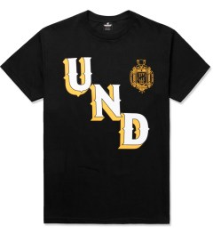 Undefeated Black UNDFTD Crest T-Shirt Picture