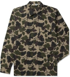 Carhartt WORK IN PROGRESS Camo Mitchell Rinsed L/S Mission Shirt Picutre