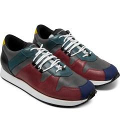KRISVANASSCHE Multicolor Hiking Sneakers Model Picture