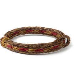 Chamula Brown/Red Braided Horsehair Bracelet Picutre