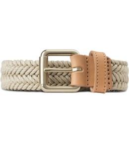 A.P.C. Beige Palermo Woven Belt Picture