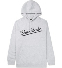 Black Scale Grey Strikeout Pullover Hoodie Picture