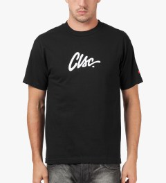 CLSC Black Script T-Shirt Model Picutre