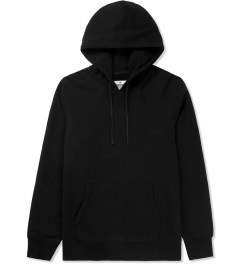 Reigning Champ Black RC-3261 Heavyweight Terry L/S Pullover Hoodie W/ Side Zip Picture