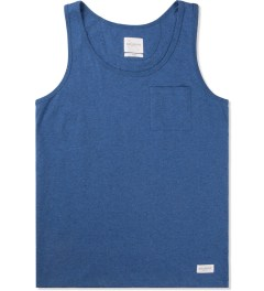 SATURDAYS Surf NYC Blue Rosen Bouncle Tank Top Picture