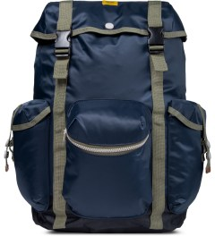 Wood Wood Midnight Navy Mills Backpack Picture