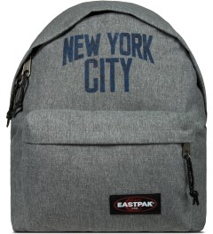 Medicom Toy EASTPAK x Medicom Toy Heather Grey New York City Backpack Picture