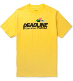 Deadline Yellow Crimewave T-Shirt Picutre