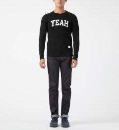 Bedwin & The Heartbreakers Black Lou Freedom C-neck L/S Sweater Model Picture