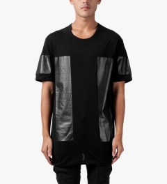 11 By Boris Bidjan Saberi Black PR2 TS3 F-1101 T-Shirt Model Picutre