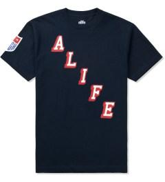 ALIFE Peacoat Black Hometeam T-Shirt Picture