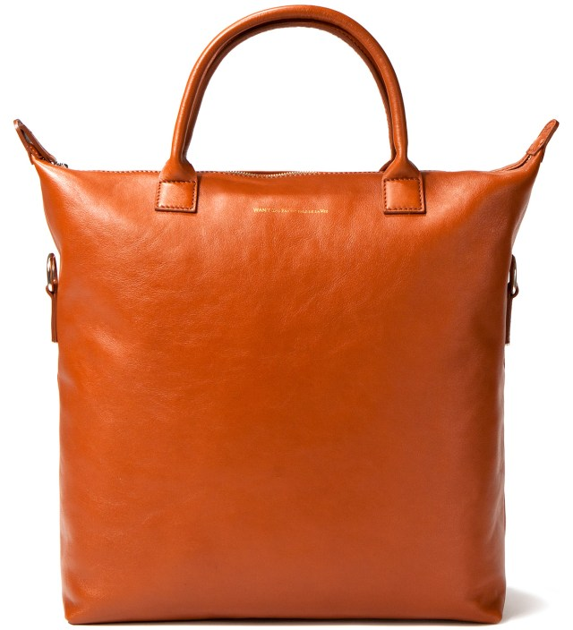 O'Hare Leather Shopper Bag