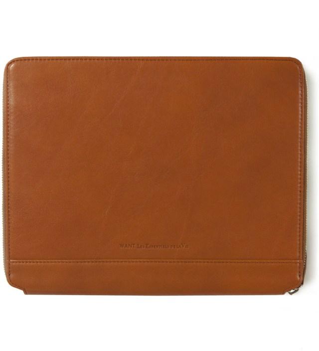 Narita Cognac iPad Zip Case