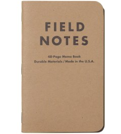 Field Notes Original 3-Pack Pocket Plain Paper Picutre