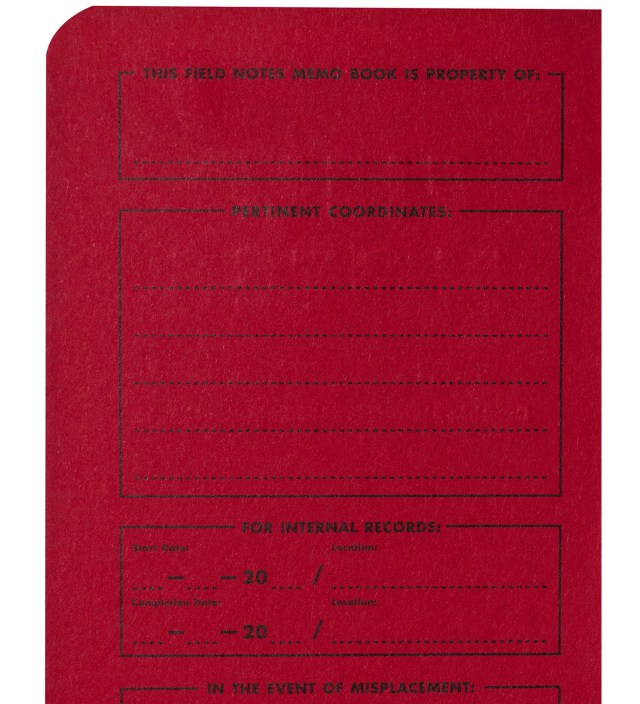 Red Blooded 3-Pack Pocket Graph Paper