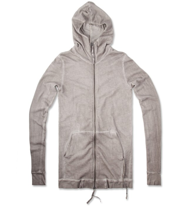 Grey Washed Silent Torob Zip Up