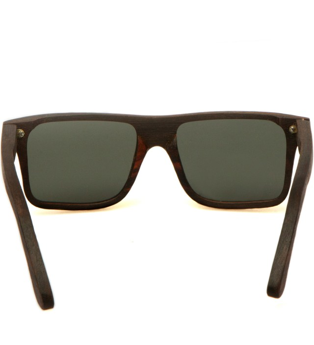 Govy East Indian Rosewood Polarized Grey Sunglasses