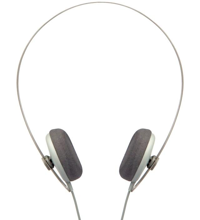 Grey Tracks Headphones
