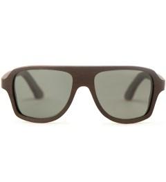 Shwood Ashland East Indian Rosewood Polarized Grey Sunglasses Picture