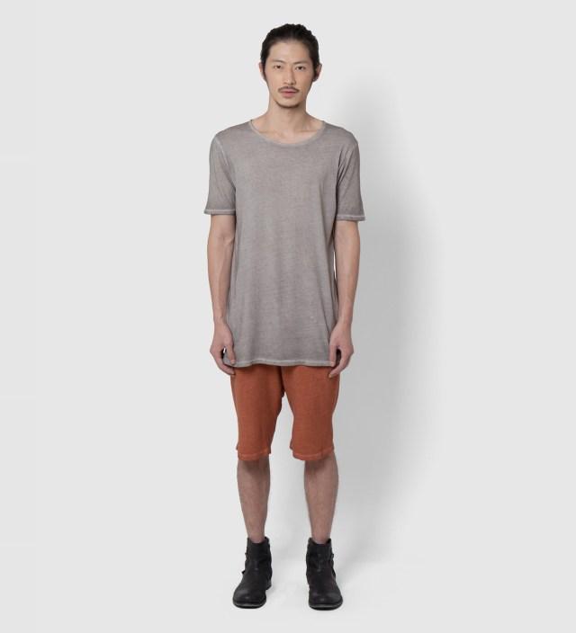Camel Saffron Wash Porss Heavy Jersey Shorts