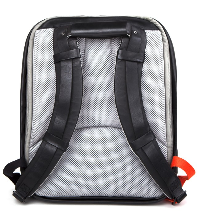 """Coated Techno Canvas 15"""" Laptop Flat Backpack"""