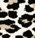 White/Black Leopard Socks