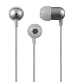 Nocs White NS200 Aluminum Universal Earphones Picutre