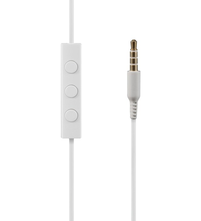 White NS400 Titanium iOS Earphones