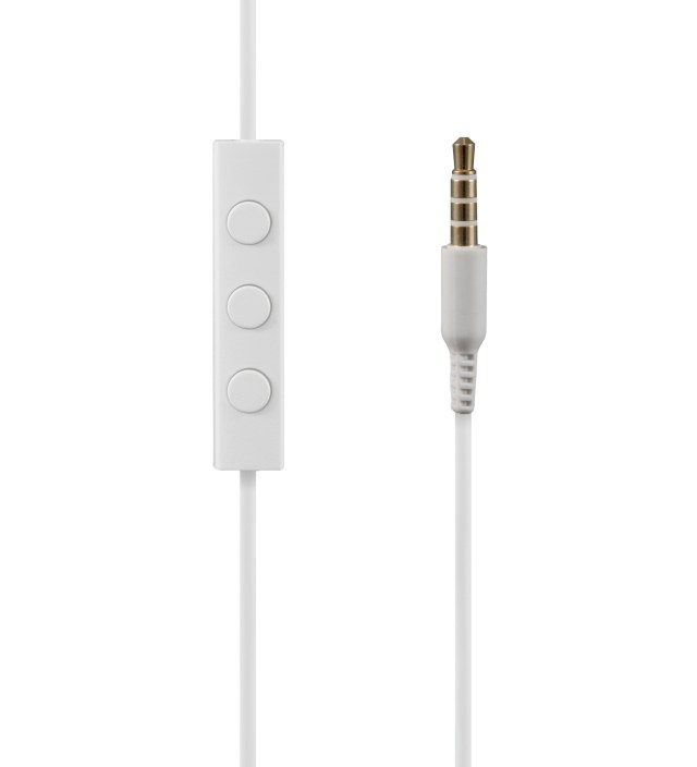 White NS200 Aluminum Android Earphones