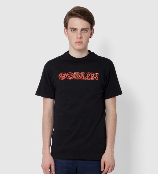 Black Goblin Leopard T-Shirt