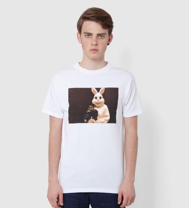 White Hodgy Rabbit T-Shirt