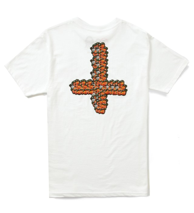 White Mellowhype 64 T-Shirt