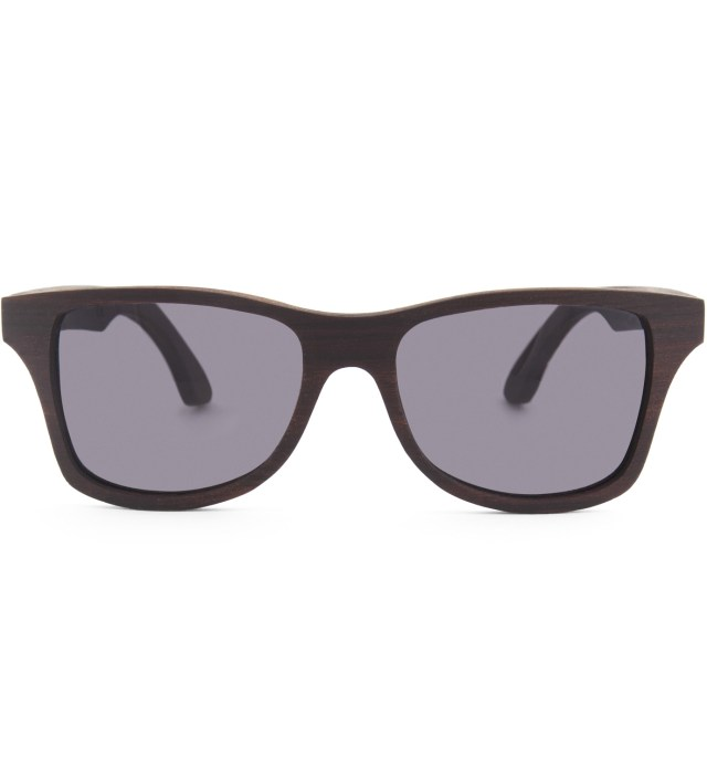 Canby East Indian Rosewood Grey Lens Sunglasses