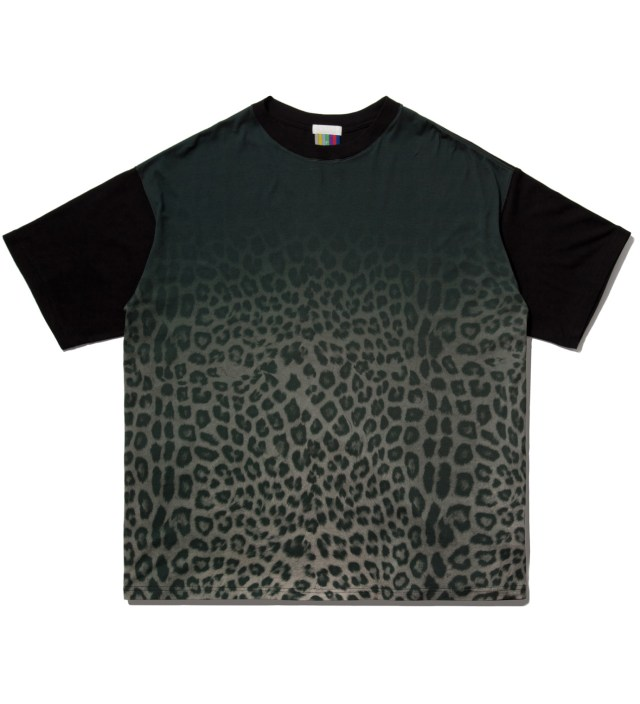 Grey Leopard Big T-Shirt