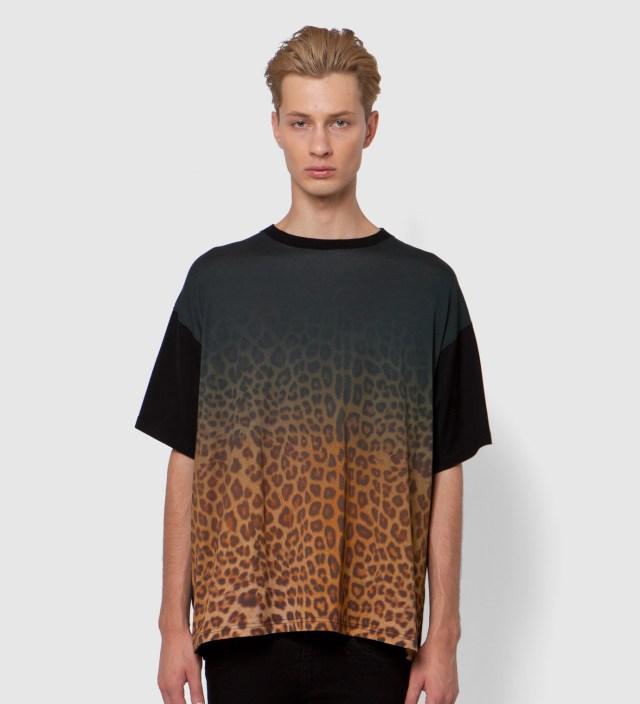 Yellow Leopard Big T-Shirt