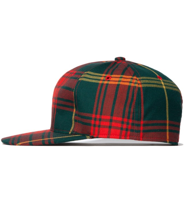 Red Tartan Cap