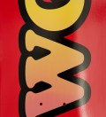 Red OFWGKTA Skateboard Deck 7.75""