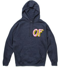 Odd Future Heather Blue Donut Hoodie Picutre