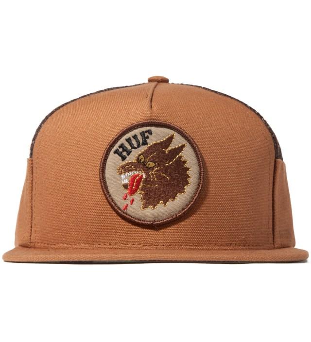 Camel DBC Wolf Side Mesh Volley Cap