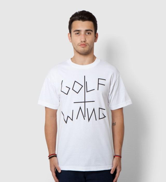 White Boxcutter T-Shirt