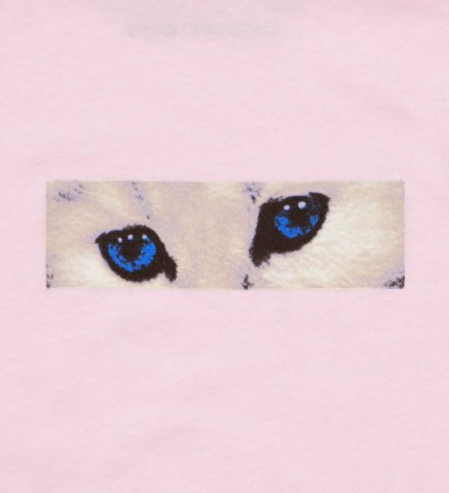 Peach White Eyes T-Shirt