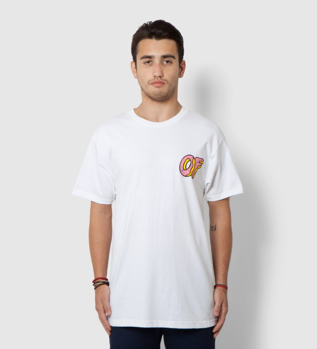 White Pink OF Donut T-Shirt