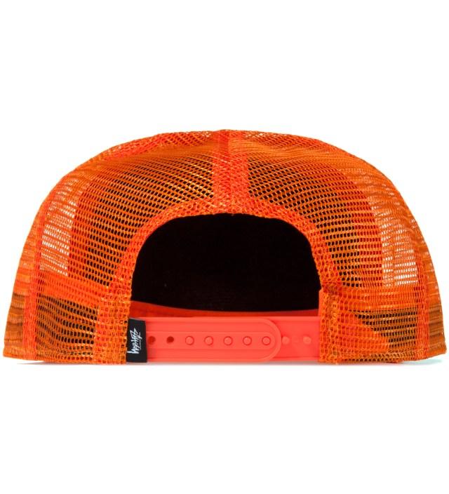 Orange Stock SS Trucker Ballcap